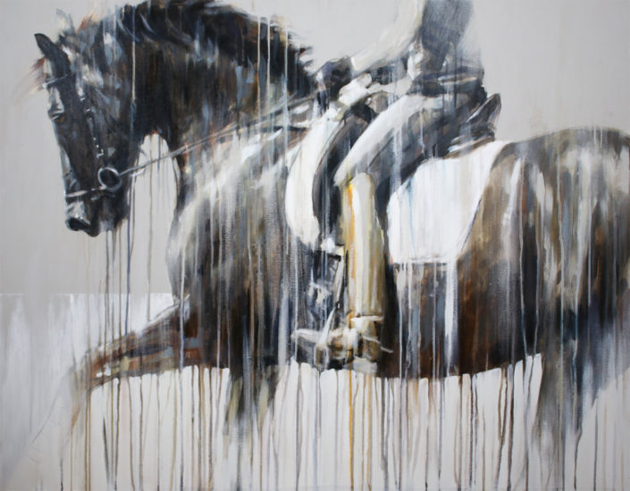 contemporary-equine-art-abstract-hot-enough-vanessa-whittell