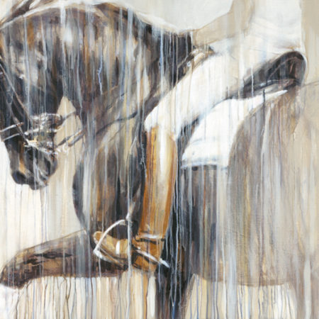 contemporary modern equine dressage fine art by vanessa whittell