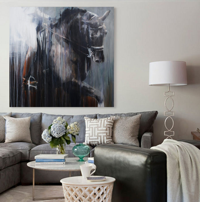 contemporary-equine-fine-art-vanessa-whittell-wall-neutral