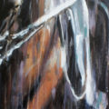 large-canvas-painting-of-dressage-horse-by-equine-artist-Vanessa-Whittell-for-your-horse-art-collection-detail2